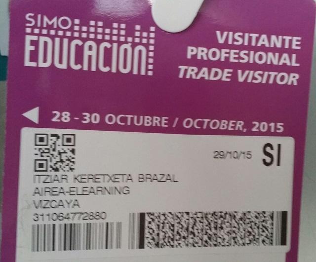 #aireaelearning en #SIMOeducacion2015