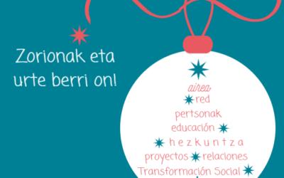 Felices Fiestas! – Zorionak eta urte berri on!