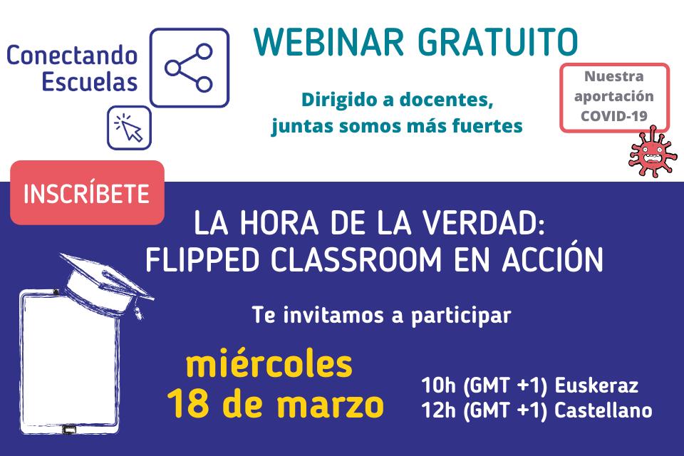 #COVID19 Webinars gratuitos para docentes